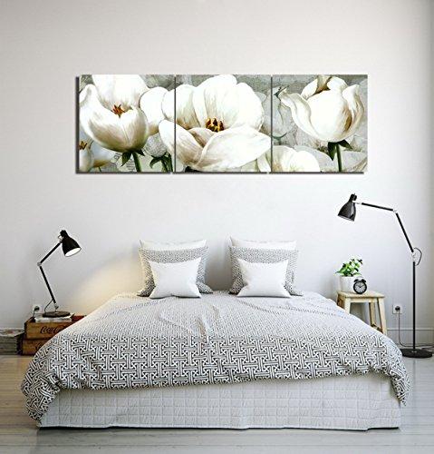 LB Flores,Plantas,Tulipanes,Blanco_Cuadro Pintura