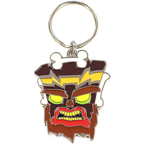 Official Crash Bandicoot Uka Uka Key Chain Ring