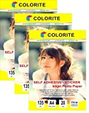 Colorite Self Adhesive Inkjet Photo Pape...