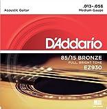 Best D'Addario Chitarre Acustiche - D'Addario EZ930 Set Corde Acustica EZ Great American Review