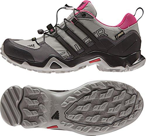 adidas Terrex Swift R Gtx W, Chaussures de Sport Femme Noir - Negro (Granit / Negbas / Grpuch)