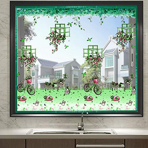 Fliegengitter Tür Fenster Insektenschutz Magnet Fliegenvorhang Für Schiebefenster Dachfenster,Green,180cmx150cm