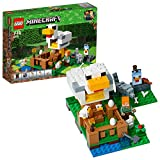 Lego Minecraft Pollaio, Multicolore, 21140