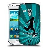 Head Case Designs Fussball Extremsportarten Snap-on Schutzhülle Back Case für Samsung Galaxy S3 III mini I8190