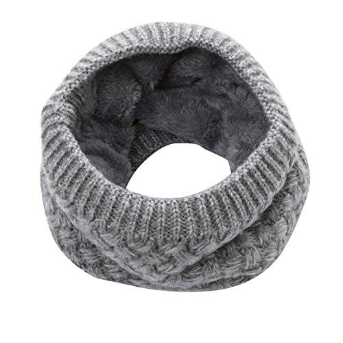 Bluestercool sciarpa infinity inverno caldo morbido in misto lana