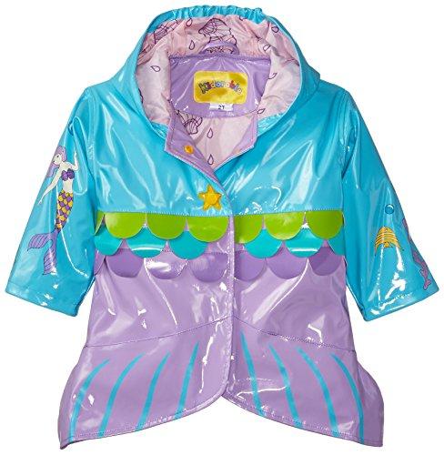 Kidorable Originale di Marca Cappotto Di Pioggia Sirena Adorabile per bambini, ragazze, ragazzi ... ... (104-110)