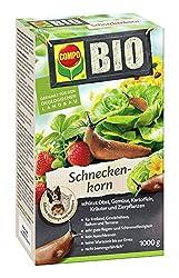 COMPO BIO Schnecken-Korn, Streugranulat gegen Nacktschnecken, 1 kg