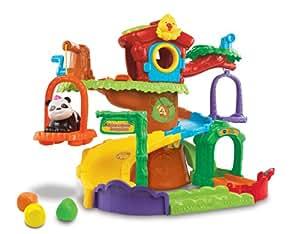 vtech 157105 jouet de premier age tut tut animo arbre cabane surprises bambou le. Black Bedroom Furniture Sets. Home Design Ideas