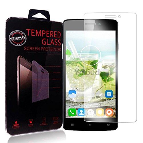 Ycloud Panzerglas Folie Schutzfolie Bildschirmschutzfolie für Cubot X12 screen protector mit Härtegrad 9H, 0,26mm Ultra-Dünn, Abger&ete Kanten