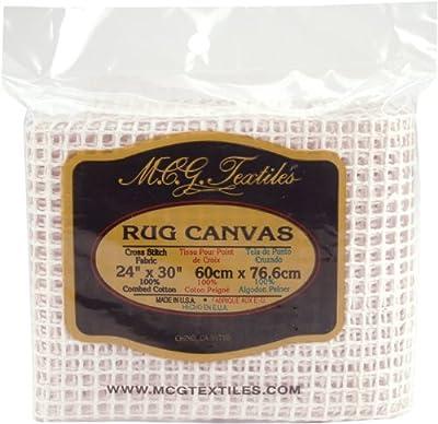 M C G Textiles 24 x 30inch Rug Canvas - low-cost UK light shop.