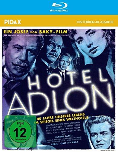 Bild von Hotel Adlon / Starbesetzter Kultfilm nach einem Drehbuch von Johannes Mario Simmel (Pidax Historien-Klassiker)(Blu-Ray)