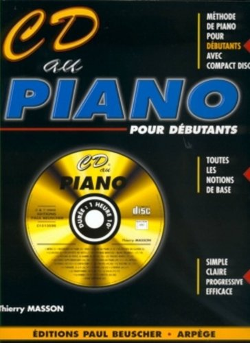 CD au Piano + CD --- Piano par Masson Thierry