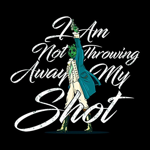 Star Wars Hamilton I Am Not Throwing Away My Shot Men's Vest Black