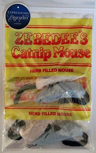Zebedee Catnip Mice 2 x Twin Packs 1