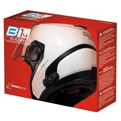 Nolan N-Com N-Com Kit de intercomunicador con Bluetooth para casco de moto...