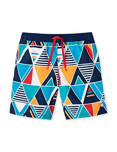 Schiesser Jungen Aqua Swimshorts Badeshorts, Mehrfarbig (Multicolor 1 904), Herstellergröße: 176 - Jungen Sport-pyjama