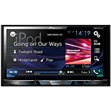 "Pioneer AVH-X5800DAB - Pantalla táctil doble de 7"" (Bluetooth, radio DAB digital, BT audio), negro"
