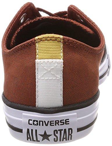 Converse Ctas Ox, Sneaker Unisex – Adulto Rot (Mars STONE/BLACK/White)