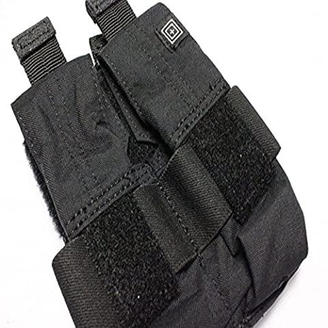 5.11 Double 40mm Grenade Mag Pouch (Black)