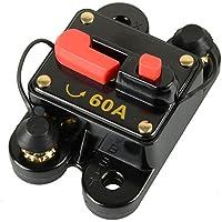 150A Disyuntor 1pc DC12V para Coche Marino Barco Bicicleta Est/éreo Reinicio de Audio Fusible 80-300A