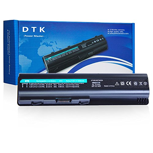 DTK Nueva Portátil Batería para Hp Pavilion Dv4-1000 Dv4-2000 Dv5-1000 DV6-1000 Dv6-2000 CQ40 CQ41 CQ45 Cq50 Cq60 Cq70 G50 G60 G60t G61 G70 G71 Series, Fits P/n 484170-001 Ev12 Ks524aa Ks526aa Hstnn-ib72 [4400MAH-6-cell]