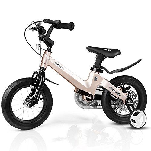 Kinderfahrräder YANFEI Royal Baby Tasten Freestyle BMX Kids Bikes in 11 Farben - in GRÖßE 12,14,16,18 Zoll mit Schweren Abnehmbaren STABILISATOREN. Kindergeschenk