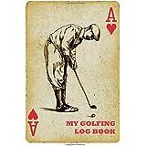 My Golfing Log Book: Ace Diamond Golf V2, 6 x 9, Track 100 Games of Golf