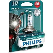 Philips 12972XV+BW X-tremeVision 130% H7 lámpara Faro de Moto, 1