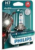Philips 12972XV+BW X-Tremevision Moto +130% H7 Motorrad-Scheinwerferlampe, 1 Stück