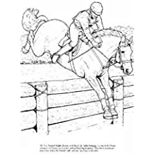 Big Book of Horses to Color (Dover Pictorial Archives)