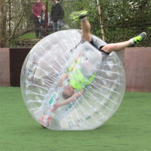 amazingsportstm Bubble Soccer Bumper Bälle Anzug Billig 5.6'1,7m für Erwachsene/Kinder PVC transparent (1,2m 1,5m erhältlich)