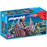 Playmobil - 4840 - Jeu de construction - Chevaliers Dragons Verts et catapulte