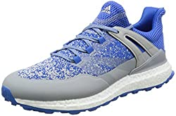Adidas Crossknit Boost Golf Shoes, Men, Men, Crossknit Boost, Bluegreywhite, 12