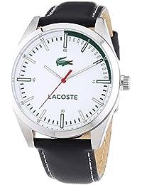 Lacoste Herren-Armbanduhr XL MONTREAL Analog Quarz Leder 2010732