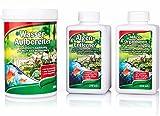 Grandiol ® 1x Teichpflegeset, 3-teilig für bis zu 5.000 Liter Teichwasser