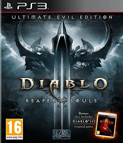 Ps3 3 Diablo (Diablo III - Ultimate Evil Edition [AT-PEGI] - [PlayStation 3])