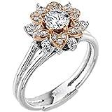 Little Treasures - 14 ct Gold Diamond Engagement Ring