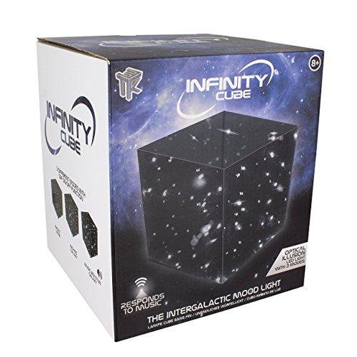Paladone infinity cubo sonido reactiva ánimo luz