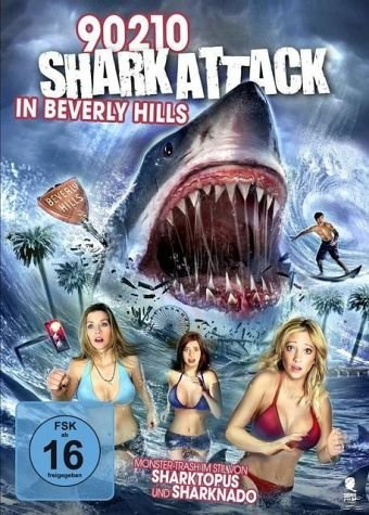 90210 Shark Attack in Beverly Hills: Creature-Movies Collection
