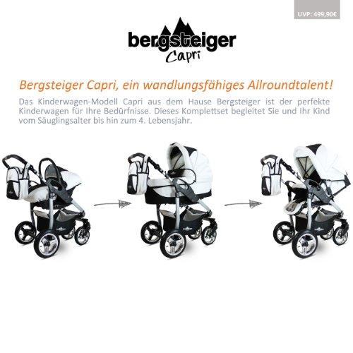 Bergsteiger Capri Kombikinderwagen 3 in 1 - 3