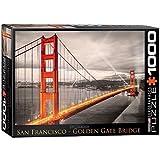 EuroGraphics San Francisco Golden Gate Bridge Puzzle (1000-Piece) by EuroGraphics