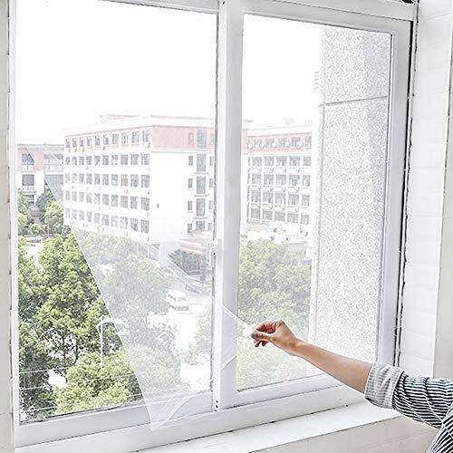 Insektenschutzrollo Magnet Fliegengitter Tür Insektenschutz Expert Schiebetür Fliegengitter Magnetischer Fliegenvorhang Moskitonetz Automatisches Schließen für Balkontür Fenster, 130 cm * 150 cm -