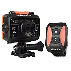 SOOCOO S70 HD 170 Degree Wide Angle Waterproof Sports DV Action Camera With Wrist Watch Remote Best For Diving, Underwater Recording