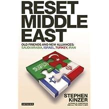 Reset Middle East: Old Friends and New Alliances: Saudi Arabia, Israel, Turkey, Iran
