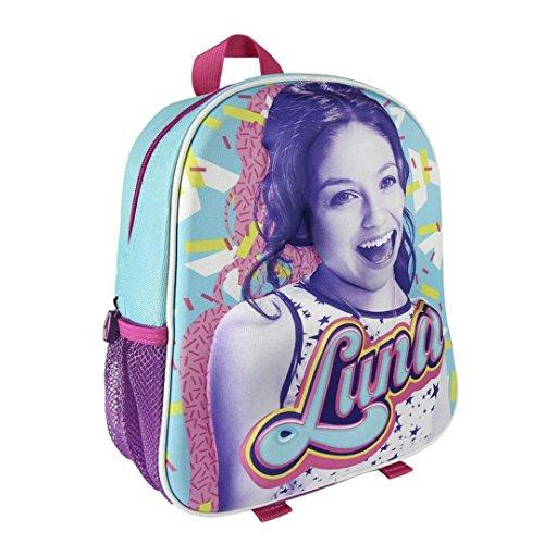 Soy Set Luna–3D sac à dos pour enfant & Tirelire & 2x 16Funny Sticker