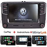 Car Audio Radio Autoradio RCD330 Build-in Carplay+Android Auto+MirrorLink+Bluetooth,OPS,USB,AUX,RVC for VW Golf Passat TIGUAN TOURAN Polo EOS Sharan