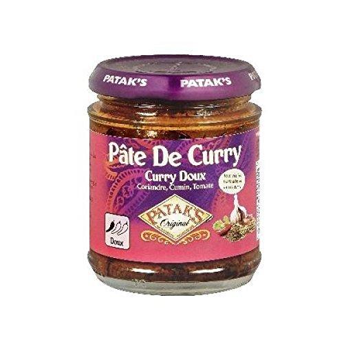 Patak's pate curry doux 165g - ( Prix Unitaire ) - Envoi Rapide Et Soignée