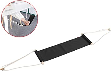 Outgeek 25'' x 6'' Desk Foot Rest Creative Under The Desk Foot Hammock Office Foot Rest