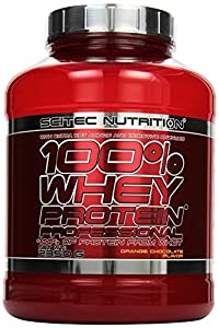 Scitec Nutrition Whey Protein Professional, Orange Chocolate, 1er Pack (1 x 2,35 kg)