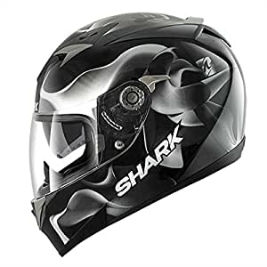 shark casque moto shark s900c glow 3 pinlock taille s couleur noir blanc. Black Bedroom Furniture Sets. Home Design Ideas